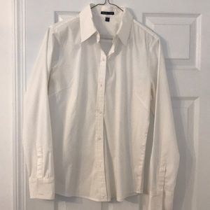 Women's button down white shirt